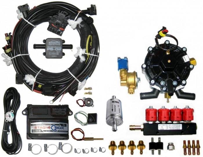Газовое оборудование для авто в кредит омск